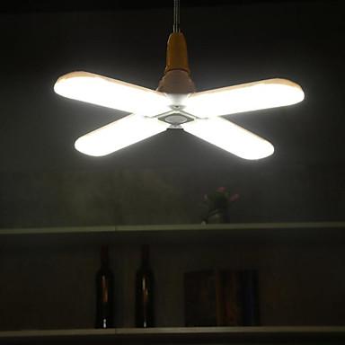 1conjunto 60 W Lâmpada Redonda LED 300 lm E26 / E27 304 Contas LED SMD 2835 Novo Design Branco Quente Branco 90-265 V