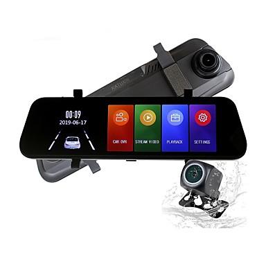 billige Bil Elektronikk-ziqiao h17k full HD streaming media bakspeil kjører opptaker 170 grader vidvinkel sprint kamera nattsyn g-sensor parkeringsovervåkning bilvideoopptaker