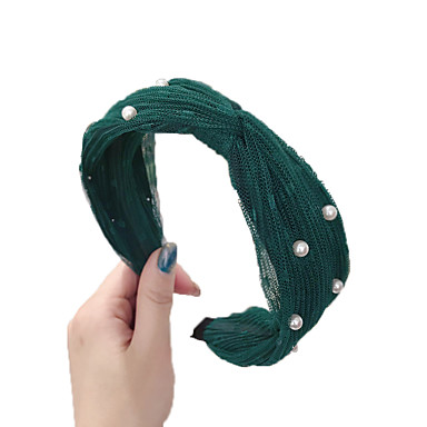 Διακοσμητικά Αξεσουάρ μαλλιών Άλλο Υλικό Αξεσουάρ Περούκες Γυναικεία 1 pcs τεμ cm Καθημερινή Ένδυση / Causal Φορητό / Τεμάχια Κεφαλής Εύκολο στη μεταφορά / Ελαστικό / Πολύ Ελαφρύ (UL)