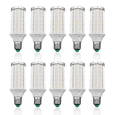 preiswerte LED-Kolbenlichter-LOENDE 10 Stück 25 W LED Mais-Birnen 2500 lm E26 / E27 T 90 LED-Perlen SMD 5730 Warmes Weiß Weiß 85-265 V