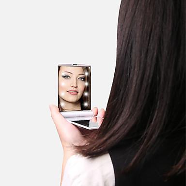 Καλλυντικά καθρέφτες Εύκολο στη μεταφορά / Χωρίς Οινόπνευμα / Άοσμο Μακιγιάζ 1 pcs Κράμα αλουμινίου Quadrate Παιδικά / Καθημερινά / Εφηβικό Παραδοσιακό / Μοντέρνα