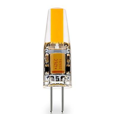 1pc 3 W LED-lamper med G-sokkel 290 lm G4 1 LED perler COB Dekorativ Smuk Varm hvit Kjølig hvit 12 V