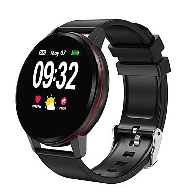 levne Pánské-Dámské Digitální hodinky Na běžné nošení Módní Černá Růžová Silikon Digitální Černá Zlatá Stříbrná Voděodolné Bluetooth Smart 30 m 1 sada Digitální