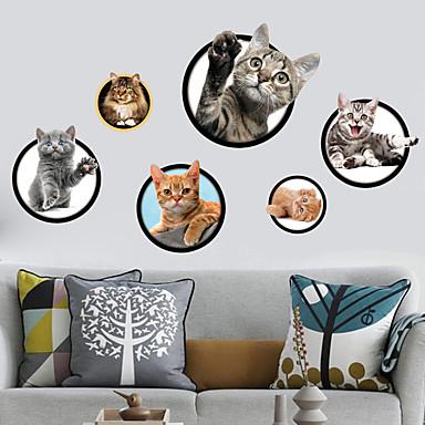 Διακοσμητικά αυτοκόλλητα τοίχου - Animal αυτοκόλλητα τοίχου Ζώα Εσωτερικό / Παιδικό Δωμάτιο / Αφαιρούμενο