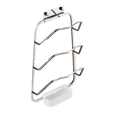 Prateleira de Banheiro Criativo Moderna Alumínio 1pç Montagem de Parede