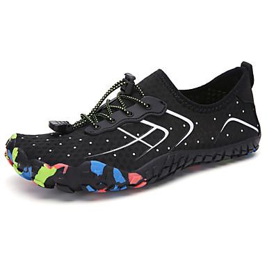 Ανδρικά Παπούτσια άνεσης Ελαστικό ύφασμα Ανοιξη καλοκαίρι Καθημερινό Αθλητικά Παπούτσια Παπούτσια Upstream Μη ολίσθηση Μαύρο και Ασημί / Πορτοκαλ & Μαύρο / Μπλε / Φορέστε την απόδειξη