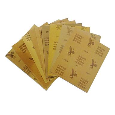preiswerte Autolackstift-23x28cm wasserfestes Schleifpapier zum Polieren von Automobilmöbeln mit Schleifpapieren der Körnung 120 bis 2000