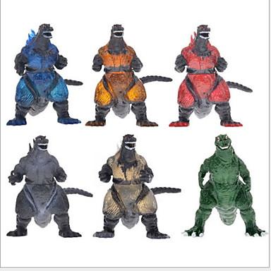 preiswerte Dinosaurier-Figuren-Klassisch Comic-Figuren Cool Dekompressionsspielzeug Eltern-Kind-Interaktion Alles 5 pcs Stücke PVC (Polyvinylchlorid) Antikes Kupfer Spielzeuge Geschenk
