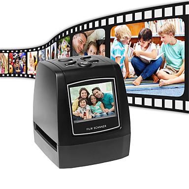 εξαιρετικά υψηλής ανάλυσης φωτογραφικό σαρωτή 35 / 135mm slide κινηματογράφος ψηφιακός σαρωτής usb film converter 2.36 lcd οθόνη σαρωτή επαγγελματικών καρτών
