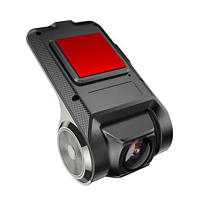 abordables DVR de Coche-X28 1080p Full HD / Arranque automático de grabación DVR del coche 170 Grados Gran angular No aparece la pantalla (salida por APP) Dash Cam con WIFI / Visión nocturna / G-Sensor Registrador de coche