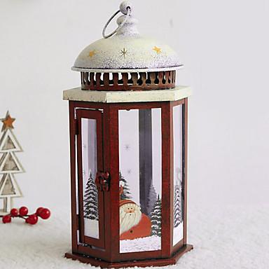 Σύγχρονη Σύγχρονη Σίδερο Κηροπήγια Κηροπήγιο 2pcs, Κερί / Κερί