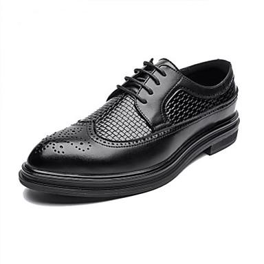 Ανδρικά Τα επίσημα παπούτσια Συνθετικά Φθινόπωρο / Ανοιξη καλοκαίρι Oxfords Μαύρο / Γάμου