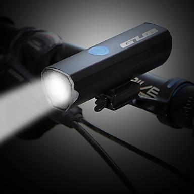 LED Φώτα Ποδηλάτου Μπροστινό φως ποδηλάτου Ποδήλατο Ποδηλασία Πολλαπλές λειτουργίες Super Bright Ασφάλεια Ευρεία Γωνία Μπαταρία λιθίου 300 lm Άσπρο Ποδηλασία / IPX 6