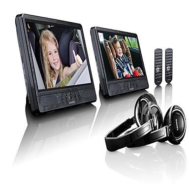 levne Auto Elektronika-lenco dvp-1045 2 dvd přehrávač micro usb / sd / usb podpora pro univerzální podporu mpeg cd jpeg