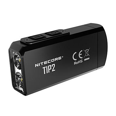 Nitecore TIP2 Φακοί Μπρελόκ 720 lm LED LED 2 Εκτοξευτές Εύκολη μεταφορά Καθημερινή Χρήση Μαύρο