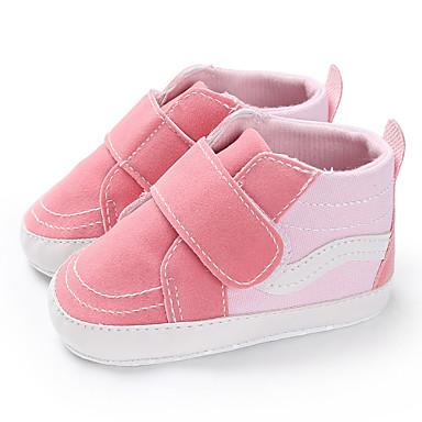 Αγορίστικα / Κοριτσίστικα Πρώτα Βήματα Πανί Μπότες Βρέφη (0-9m) / Νήπιο (9m-4ys) Μαύρο / Ροζ / Σκούρο μπλε Φθινόπωρο / Χειμώνας