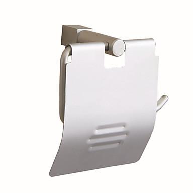 Suporte para Papel Higiênico Criativo Moderna Alumínio 1pç - Banheiro Montagem de Parede