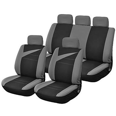 voordelige Auto-interieur accessoires-LITBest Auto-stoelhoezen Stoel hoezen Zwart Stof / Polyesteri Standaard Voor Universeel Alle jaren