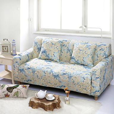 [$34.79] Sofa Cover Floral / Print / Contemporary Reactive Print / Printed  / Quilted Polyester Slipcovers
