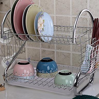 1pç Prateleiras e Suportes Aço Inoxidável Armazenamento Para utensílios de cozinha