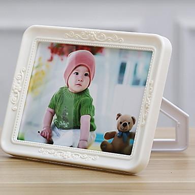 Σύγχρονη Σύγχρονη PVC Γυαλισμένο με καθρέφτη Κορνίζες, 2pcs