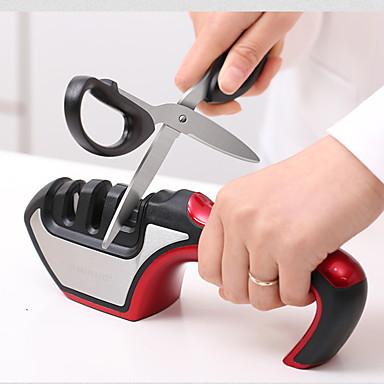 Μεταλλικό Κράμα Πλαστική ύλη Ακονιστήρι μαχαιριών Δημιουργική Κουζίνα Gadget Εργαλεία κουζίνας Καινοτόμα εργαλεία κουζίνας 1pc