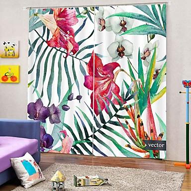 Europeu fresco 3d impressão multipurpose cortina espessamento apagão cortina de isolamento térmico à prova d 'água cortina de escritório multiuso cortina