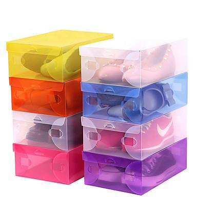 plast rektangel kul / ny design hjemme organisasjon, 1pc racks