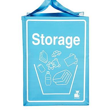 cesta de lavanderia Tecido Oxford Comum Acessório 1 Bolsa de Armazenagem Sacos de armazenamento doméstico