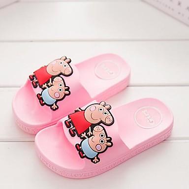 Jente Komfort PVC Tøfler og flip-flops Små barn (4-7år) / Store barn (7 år +) Rød / Blå / Rosa Sommer