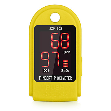 cheap Blood Pressure-RZ Fingertip Pulse Oximeter Portable Blood Pressure Health Care CE approved SPO2 and Pulse Rate Pulsioximetro JZK-302