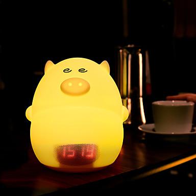 1pc Νυχτικό φως νυχτών USB Δημιουργικό <=36 V