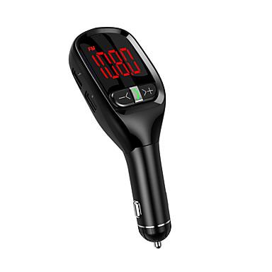levne Auto Elektronika-bluetooth 5.0 fm vysílač auto handsfree fm rádio / mp3 / fm vysílače auto