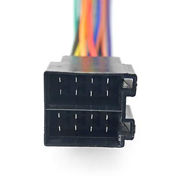 preiswerte Automobil-universelle männliche iso radio kabelbaum adapter stecker auto adapter stecker für volkswagen / citroen / audi