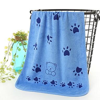 Ανώτερη ποιότητα Πετσέτα Πλυσίματος, Ζώο Βαμβάκι / Μείγμα Λινού Μπάνιο 10 pcs