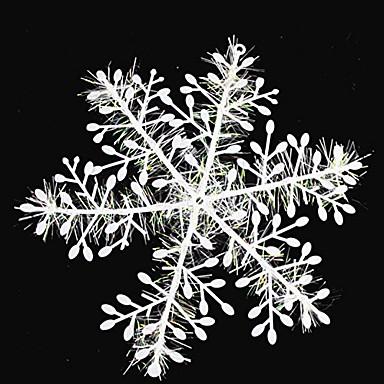 Yiwu ho1070t62dgk15pcs βουρτσισμένες νιφάδες χιονιού Χριστουγεννιάτικο δέντρο διακόσμηση 11cm zuhe amazon.com --- cyndie Χριστούγεννα