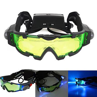 preiswerte Jagen & Natur-Night Vision Goggles Linsen Wasserfest Verstellbar LED Beschlagfrei Camping & Wandern Jagd Schießen Kunststoff Metal / Nachtsicht