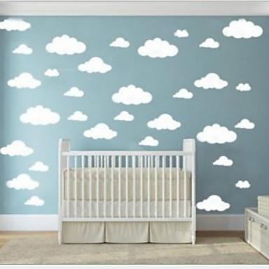 Διακοσμητικά αυτοκόλλητα τοίχου - Αεροπλάνα Αυτοκόλλητα Τοίχου Σχήματα Υπνοδωμάτιο