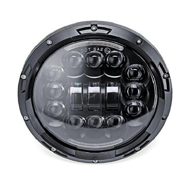 1 pcs lâmpadas de luz do carro 45 w levou faróis para jeep / land rover / harley todos os anos