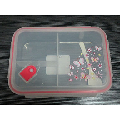 1pc Κουτιά Κολατσιού Glass Lovely Καθημερινή Χρήση