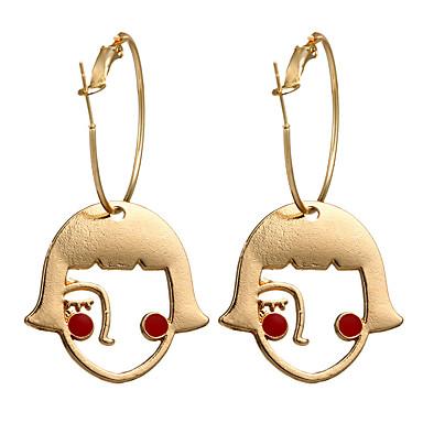 Γυναικεία Σκουλαρίκι Πριγκίπισσα Σκουλαρίκια Κοσμήματα Χρυσαφί Για Καθημερινά Φεστιβάλ 1 Pair