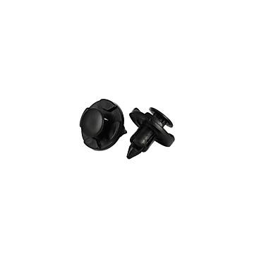 25 stk. Plastnitterholderholder Trykkklemme 8mm hull for Nissan 22mm / 0.88 inches