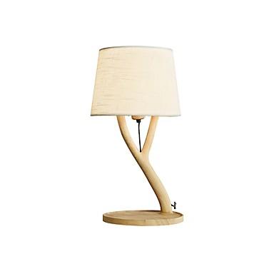massivt tre bordlampe lampeskjerm moderne moderne nytt design lampeskjerm for innendørs / stue tre