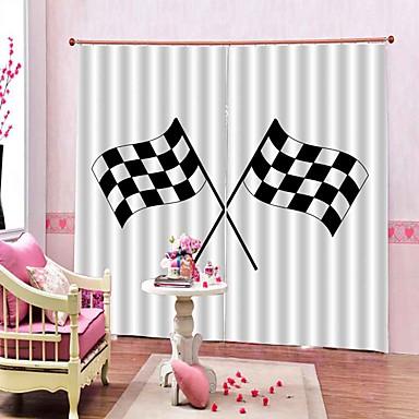 Moderno design simples 3d impressão digital tecido multiuso cortina blackout à prova d 'água à prova de umidade 100% poliéster cortina de banho