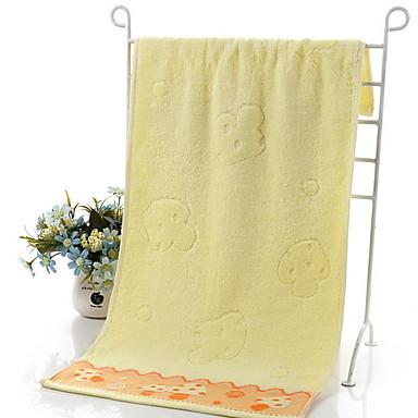 Ανώτερη ποιότητα Πετσέτα Πλυσίματος, Γεωμετρικό Βαμβάκι / Μείγμα Λινού Μπάνιο 2 pcs
