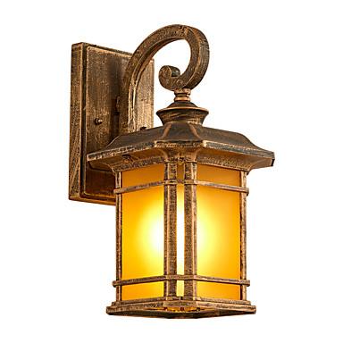 antikk vegg lanterne vanntett nytt design moderne moderne flush mount vegg lys hage / utendørs metall vegg lys
