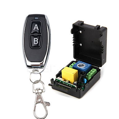 smart bryter ak-rk1s-p + ak-j027-ab for stue / soverom / daglig enkel å installere / fjernstyrt trådløs fjernkontroll 220 v