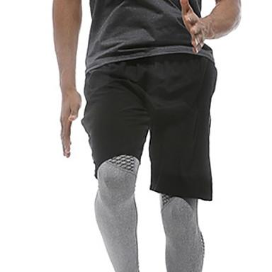 Ανδρικά Pantaloni Scurți de Alergat Αθλητισμός Παντελόνια Τρέξιμο Ελαφρύ Μονόχρωμο Μαύρο / Ελαστικό