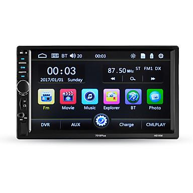 voordelige Automatisch Electronica-hevxm 7010plus 7 inch 2 din auto mp5 speler touchscreen / ingebouwde bluetooth / radio voor universele bluetooth ondersteuning rm / rmvb / mp4 mp3 / wav / ogg jpg