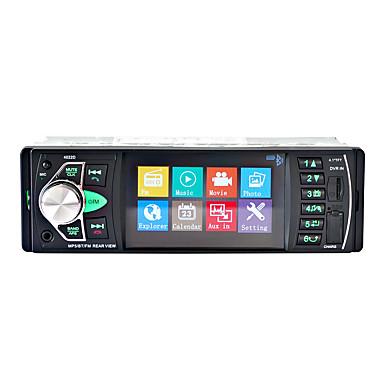 voordelige Automatisch Electronica-4.1 inch 1 din auto mp5-speler mp3 / ingebouwde bluetooth / afstandsbediening / rc voor universele bluetooth ondersteuning mpeg / vob / 3gp mp3 / wma / wav jpeg / ondersteund audioformaat